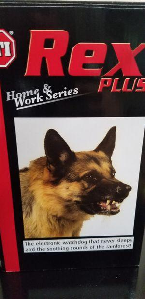 House Alarm Barking Dog Safety Technology International, Inc. ED-50 Rex Plus Electronic Watchdog, for Sale in Everett, WA