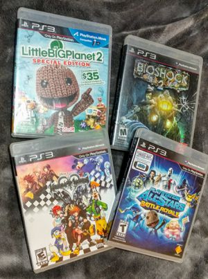 3 PS3 games for Sale in Everett, WA