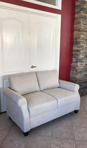 Loveseat /// BRAND NEW/// light gray modern couch for Sale in Glendale, AZ