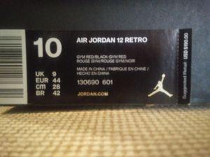Air Jordan 12 retro for Sale in Fort Leonard Wood, MO