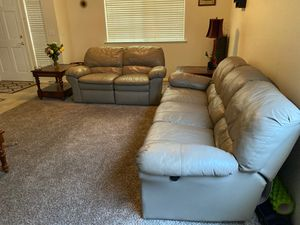 Couches w/ recliners for Sale in Fresno, CA