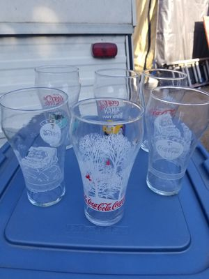 Over 20 coke glasses for Sale in Riverside, CA