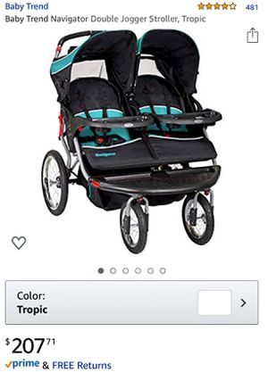 Baby Trend Navigator Double Jogger Stroller for Sale in Hawthorne, CA