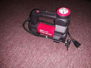 Bonaire 120V Inflator Direct Drive Motor Powerful, Quiet and Fast Easy to Read 130 psi for Sale in Kansas City, MO