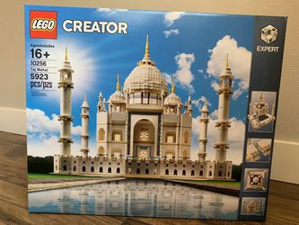 LEGO Creator Expert Taj Mahal 10256 Building Kit and Architecture Model, Perfect Set for Older Kids and Adults (5923 Pieces) for Sale in Santa Clarita,  CA