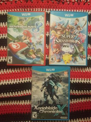 Assorted wiiU games for Sale in Tempe, AZ