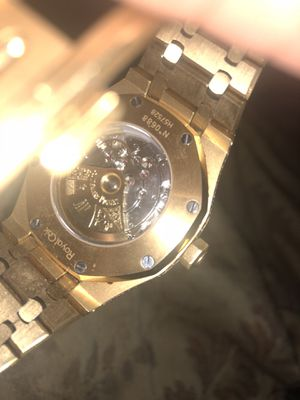 Official Ap 24k diamond watch for Sale in Marshall, VA