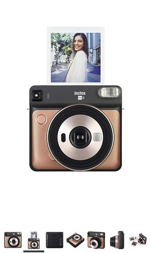 Fujifilm Instax Square SQ6 - Instant Film Camera - Blush Gold for Sale in Dublin, OH