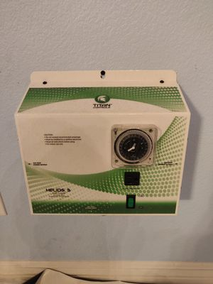 Titan helios 3 lighting timer and controller for Sale in Las Vegas, NV