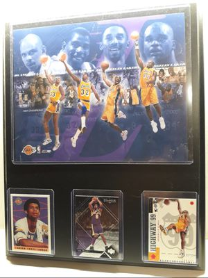 Lakers legends plaque for Sale in Commerce, CA