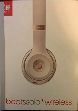 Beats solo 3 wireless for Sale in Montebello, CA