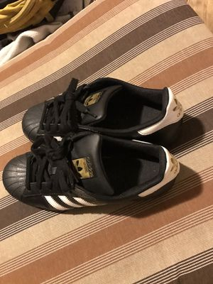 Black Adidas shell toes for Sale in Orlando, FL