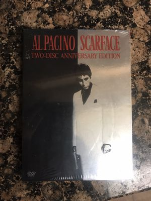 15$ Scarface 2 disk dvd new ! for Sale in Houston, TX