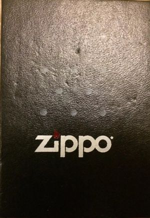 Genuine Zippo Lighter - Made in USA -