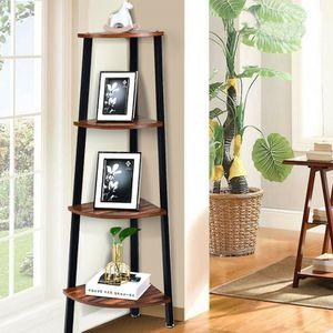4-Tier Corner Shelf Metal Storage Rack for Sale in Oakland, CA
