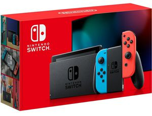 Nintendo Switch 32GB Red/Neon Blue Console for Sale in Miami, FL
