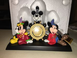 New Collectors Micky Mouse Steamboat Willie Desk clock for Sale in Lancaster, PA