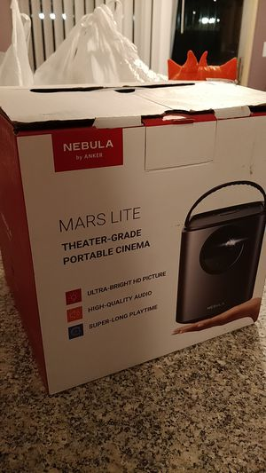 Nebula Mars lite - portable projector for Sale in Phoenix, AZ