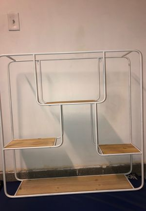 White hanging wall shelf for Sale in Las Vegas, NV