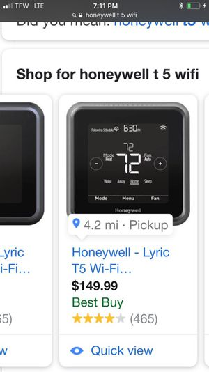Honeywell wifi thermostats for Sale in Portland, OR