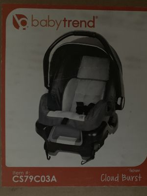 Baby Trends Car seat (new in box) for Sale in Fort Walton Beach, FL