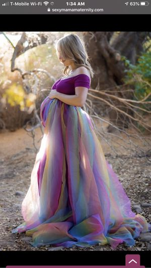"""New """"Sexy Mama Maternity"""" gown in magenta for Sale in Walnut Creek, CA"""