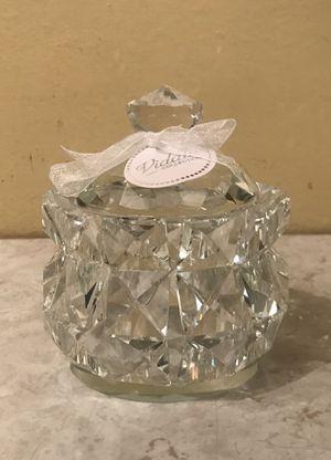 Swarowski crystal jar jewelry jar with lid for Sale in Tempe, AZ