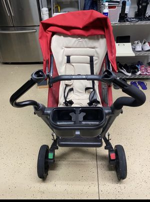 Orbit Baby Stroller - Red - Car seat included for Sale in Orlando, FL