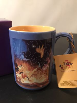 Disney Coffee Mug Mickey Mouse 75th Anniversary 75 Years of Love and Laughter for Sale in Westlake, MD