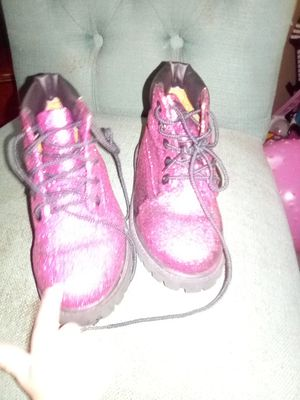 Timberland boots still new size eight in girls for Sale in Jacksonville, FL