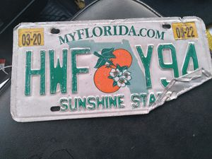 Lost tag found on john young & town center for Sale in BVL, FL