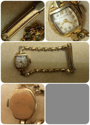Bulova vintage 10k rolled gold watch for Sale in Columbia, MO