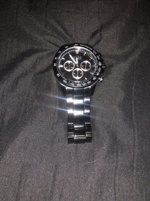 hugo boss hb1512961 men's ikon black chronograph stainless steel watch for Sale in Los Angeles, CA