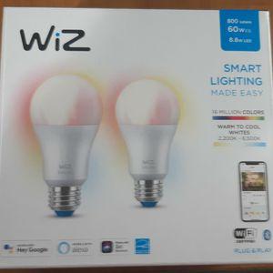 Smart Light Bulbs Multicolor for Sale in Tacoma, WA