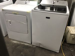 Maytag brand new open box washer an dryer set scratch and dents Frankford Appliances! Warranty! We deliver! for Sale in Philadelphia, PA