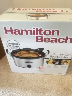 Hamilton Beach Slow Cooker for Sale in Saint Charles, MD