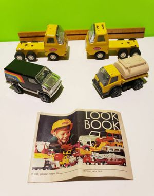 Tonka Look Book 1969 + Diecast Truck & Van Lot (You get everything) for Sale in Reinholds, PA