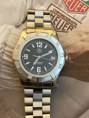 Tag Heuer Stainless Steel Men's Automatic Watch.Stainless steel and 200m. water resistant. 41mm,crown included. Sapphire crystal,box and paperwork. for Sale in Coral Gables, FL