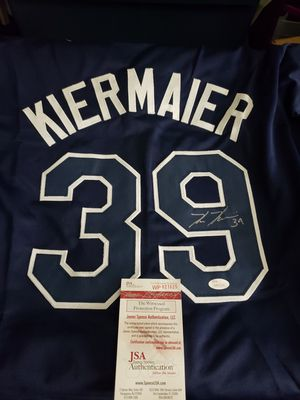 Kevin Kiermaier autographed Jersey authenticated by JSA for Sale in Palm Harbor, FL
