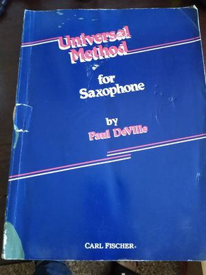 Saxophone instruction book for Sale in Oakmont, PA