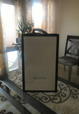 GUCCI shopping / gift bag - empty for Sale in Las Vegas, NV