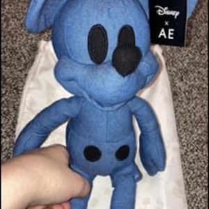 Mickey Mouse Denim Plush X American Eagle (Special edition) for Sale in Lockport, IL