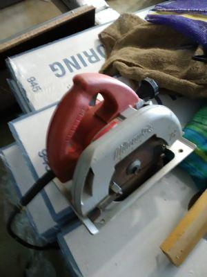 Milwaukee 7 1/4 circular saw for Sale in Kennewick, WA