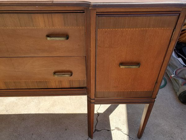 Sturdy Solid Wood Dresser/Desk/Vanity