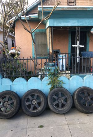 5x5 Jeep wheels for Sale in Los Angeles, CA