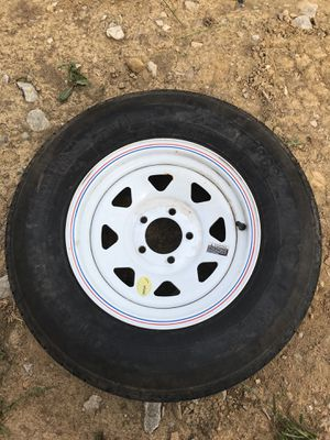 14 inch trailer rim & tire for Sale in Dublin, OH