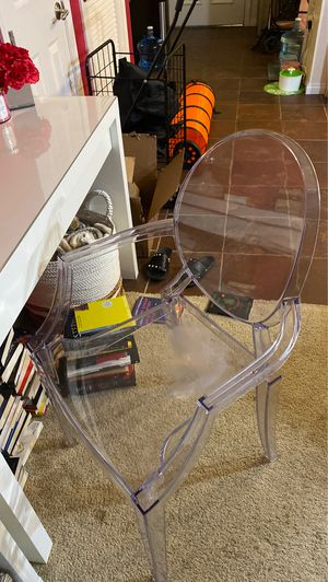 Acrylic chair for Sale in Las Vegas, NV