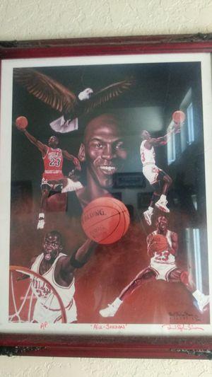 Michael Jordan Portrait for Sale in Fort Pierce, FL