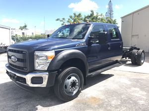 2015 Ford Crew Cab Dump Truck for Sale in Miami Gardens, FL
