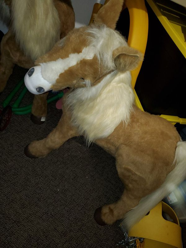 Extremely rare huge furreal friends butterscotch pony